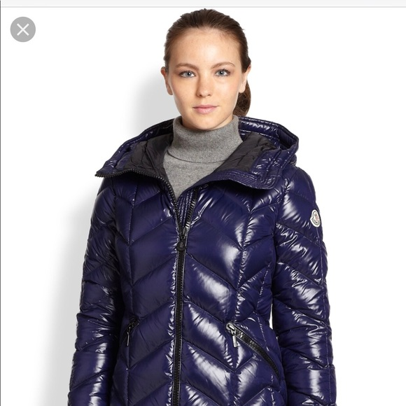 9367e23f1 Authentic Moncler Badete Puffer navy blue size 0
